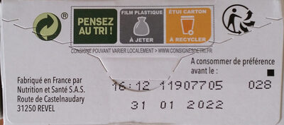 Biscuits Figue et son - Recycling instructions and/or packaging information - fr