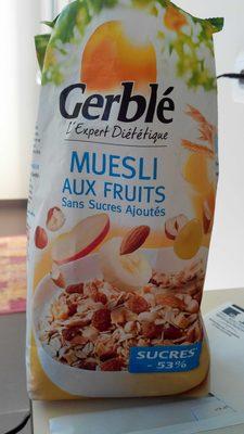 Muesli aux fruits - sans sucres ajoutés - Produit - fr