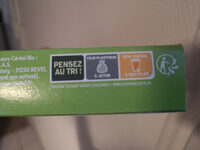 Croq soja provencal - Recycling instructions and/or packaging information - fr