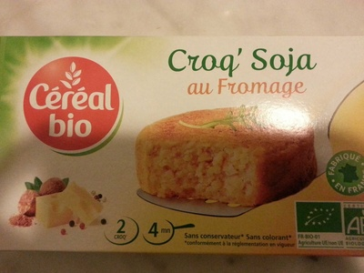 Croq' Soja au fromage - Product
