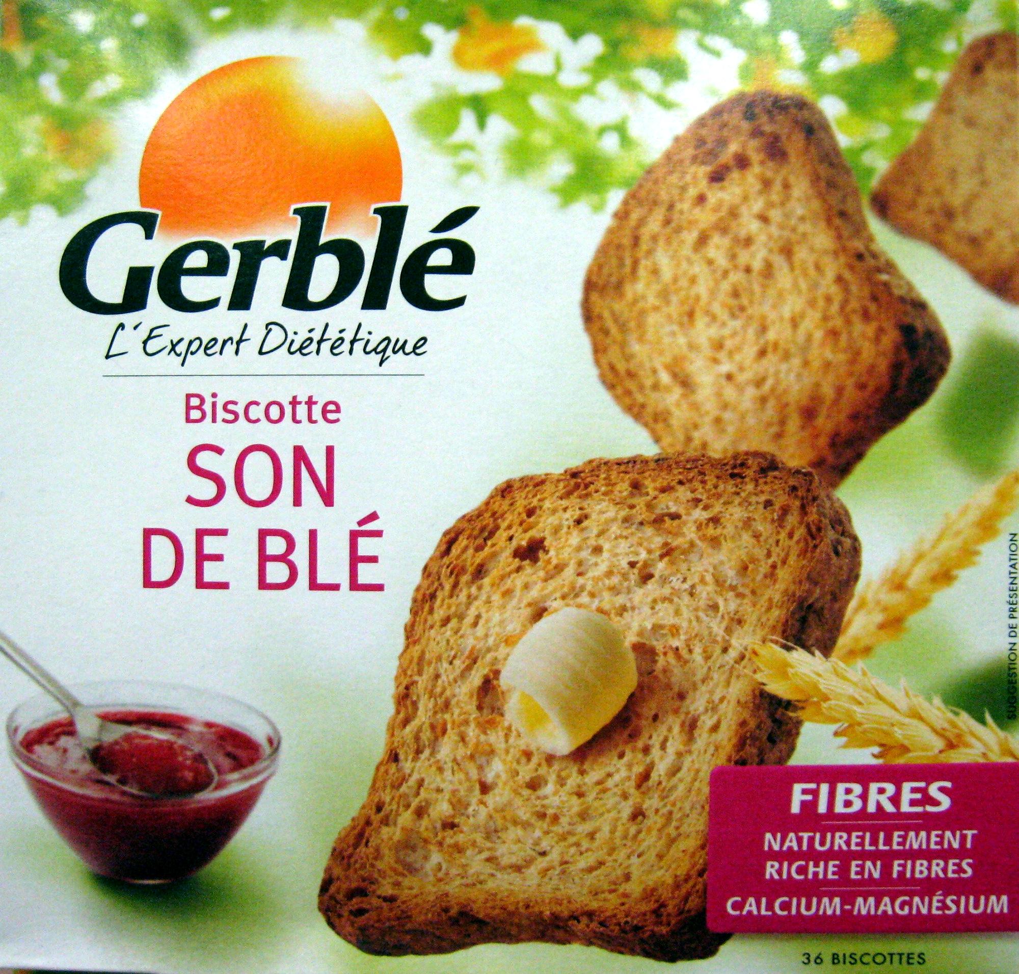 Biscotte Son de blé - Produit