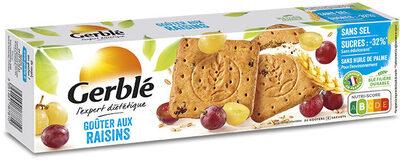 Biscuits Goûter aux raisins - Produit - fr