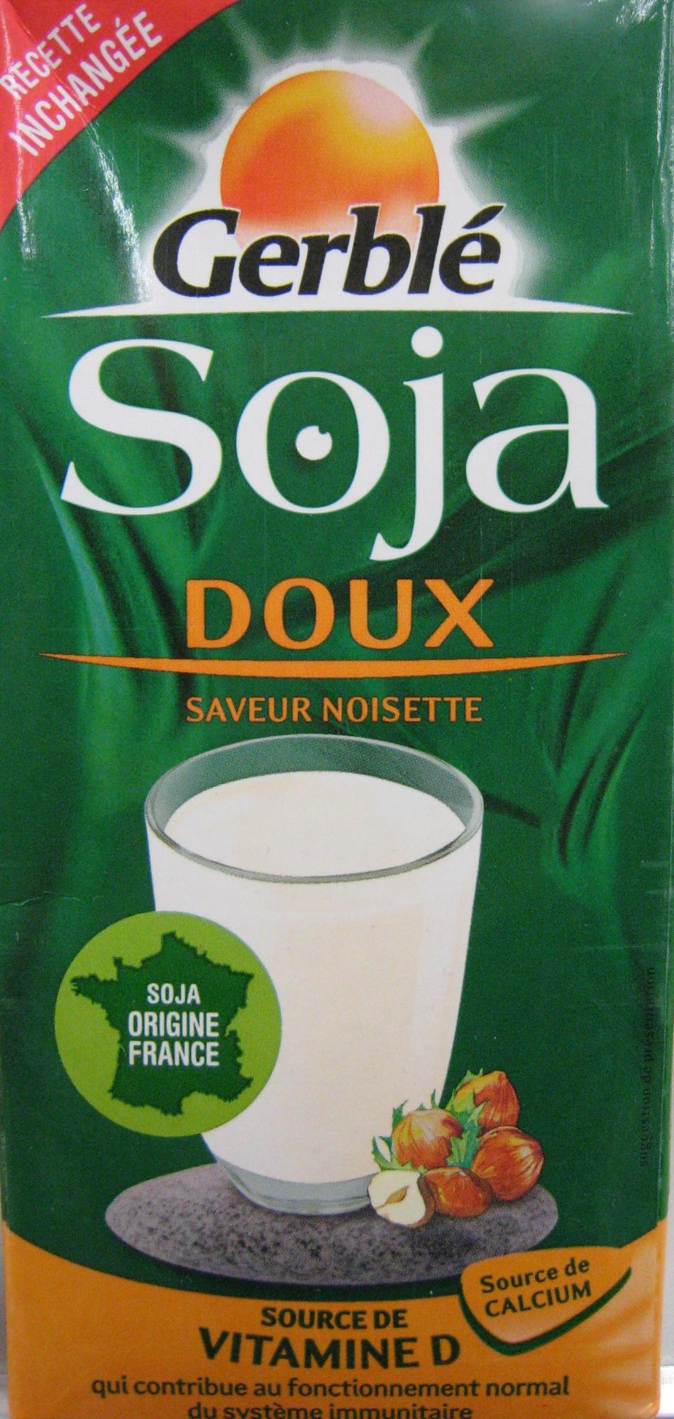 Soja Doux Saveur Noisette - Product
