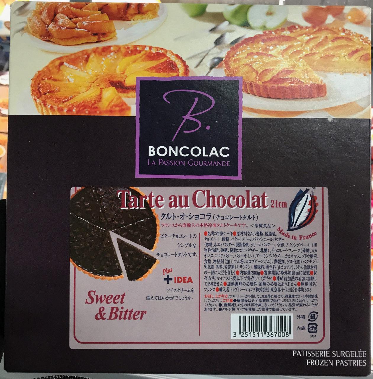 Tarte au chocolat - Produit - fr