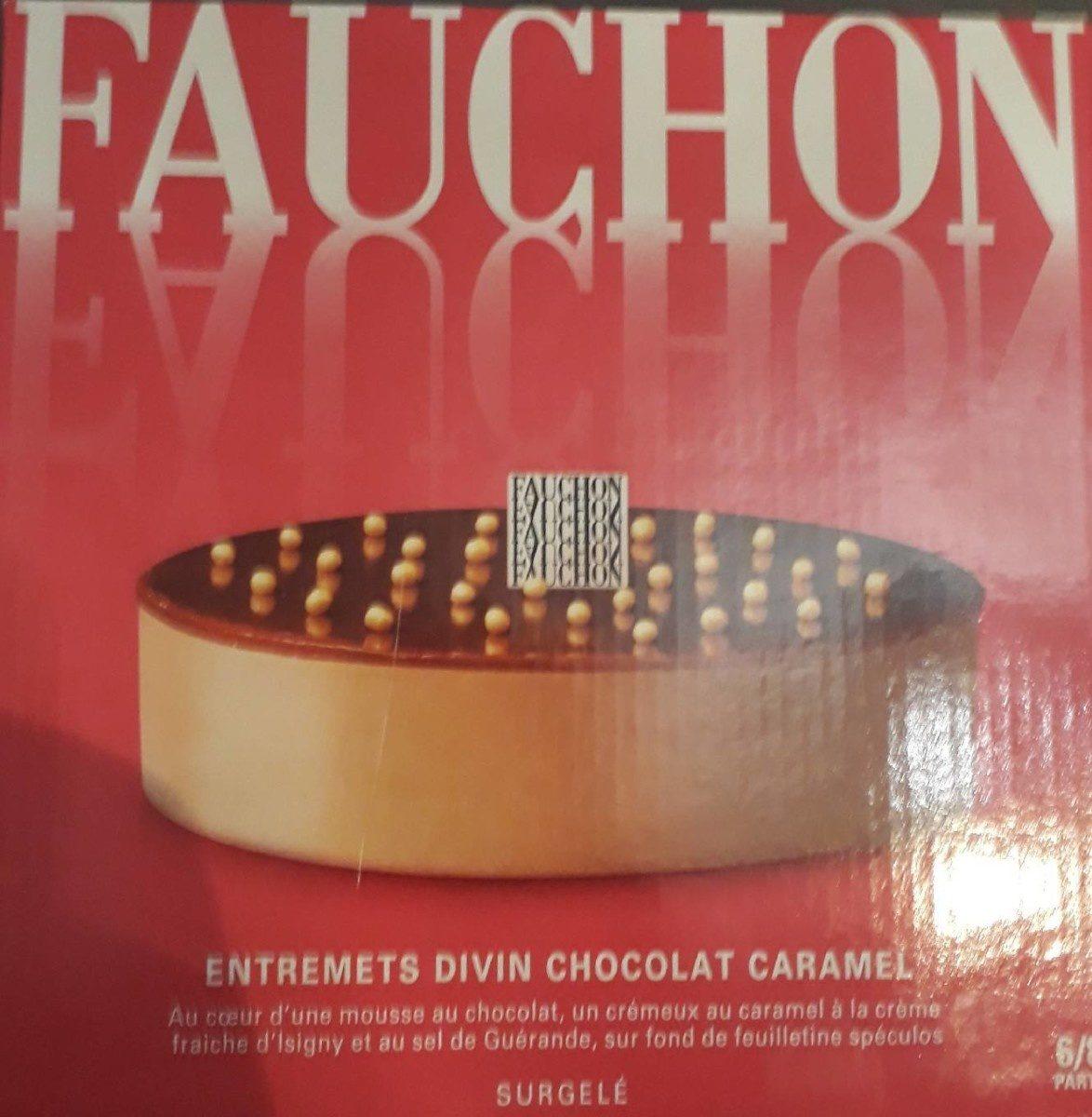 Entremets divin chocolat caramel - Product - fr