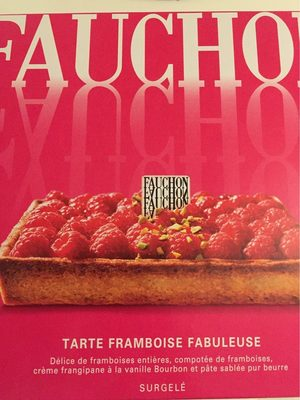 Tarte framboise fabuleuse - Produit