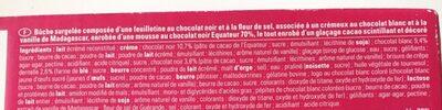 Création scintillante deux chocolat - Ingrediënten