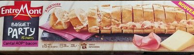 Baguet' Party cantal bacon - Product
