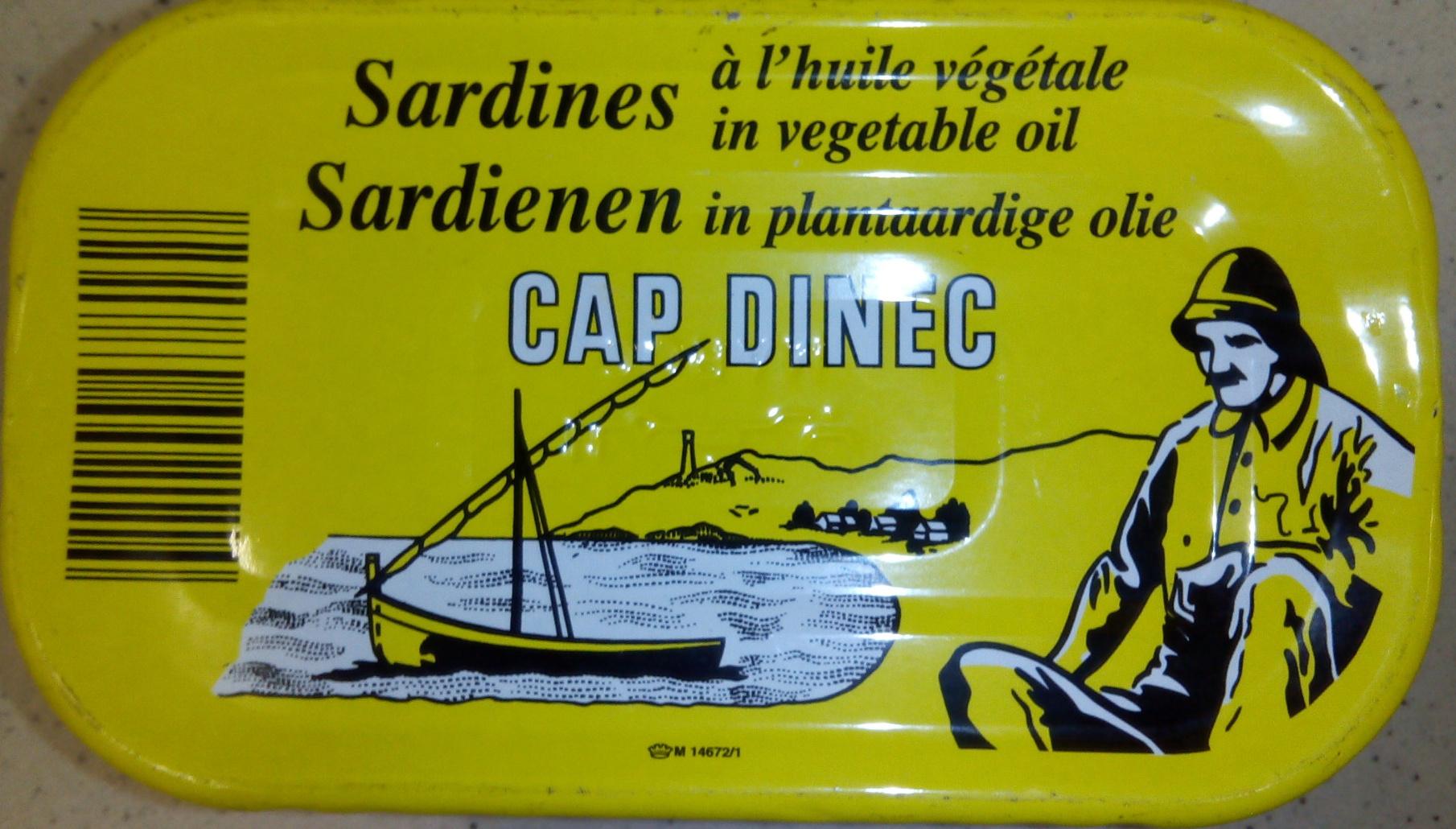 Sardines à l'huile végétale - Product