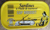 Sardines à l'huile de tournesol - Product - fr