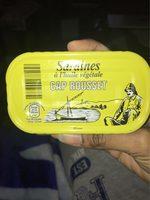 Sardine a l'huile vegetale - Produit