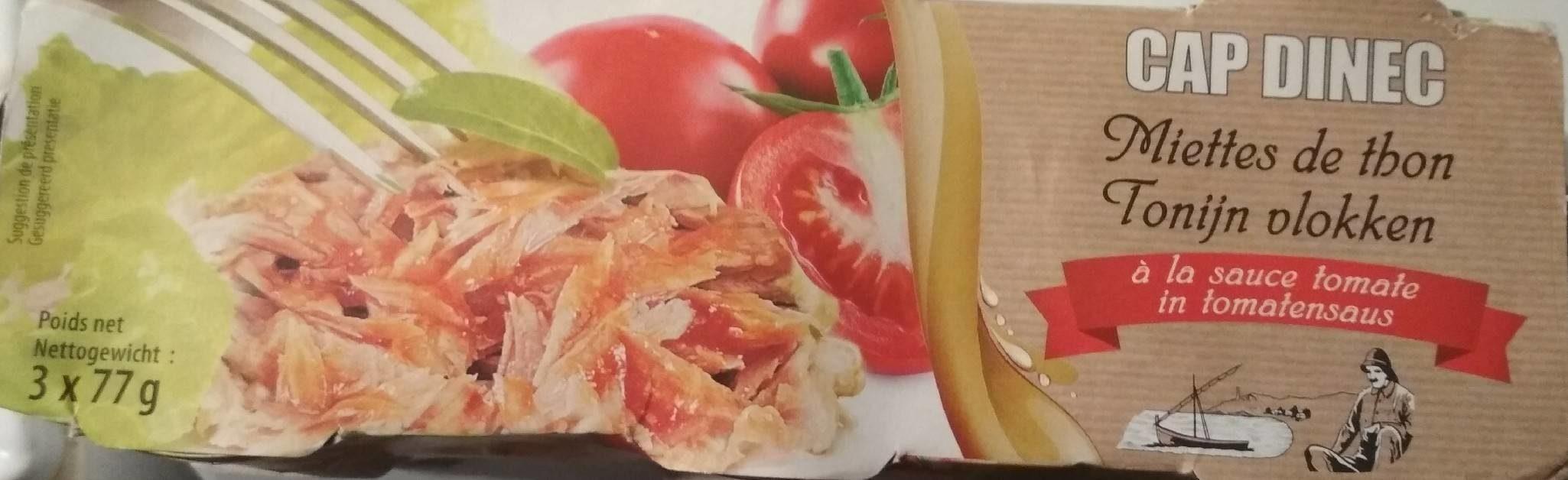 Miettes de Thon à la Sauce Tomate - Prodotto - fr