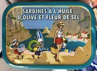 Sardines à l'Huile d'olive et Fleur de Sel - Produit - fr