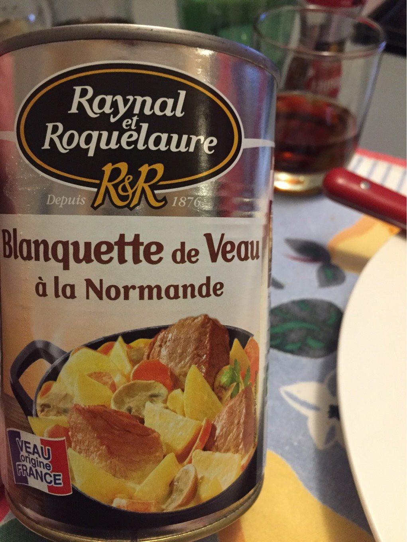 Blanquette de Veau à la Normande Raynal et Roquelaure - Product - fr