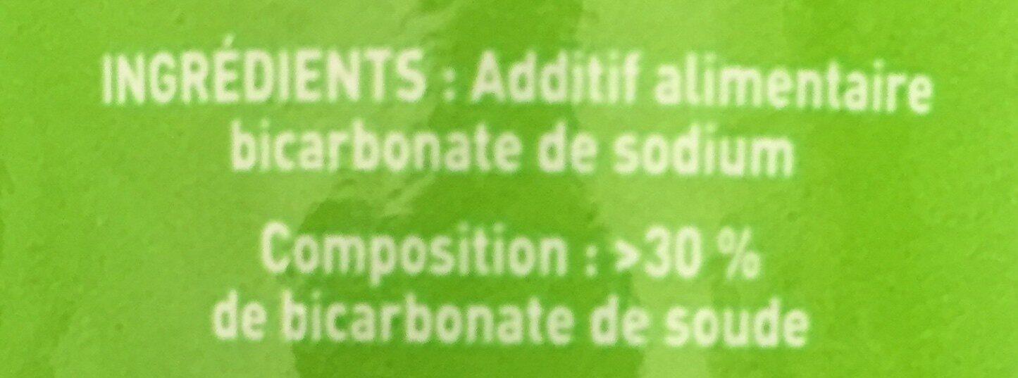 Bicarbonate alimentaire - Ingrediënten - fr