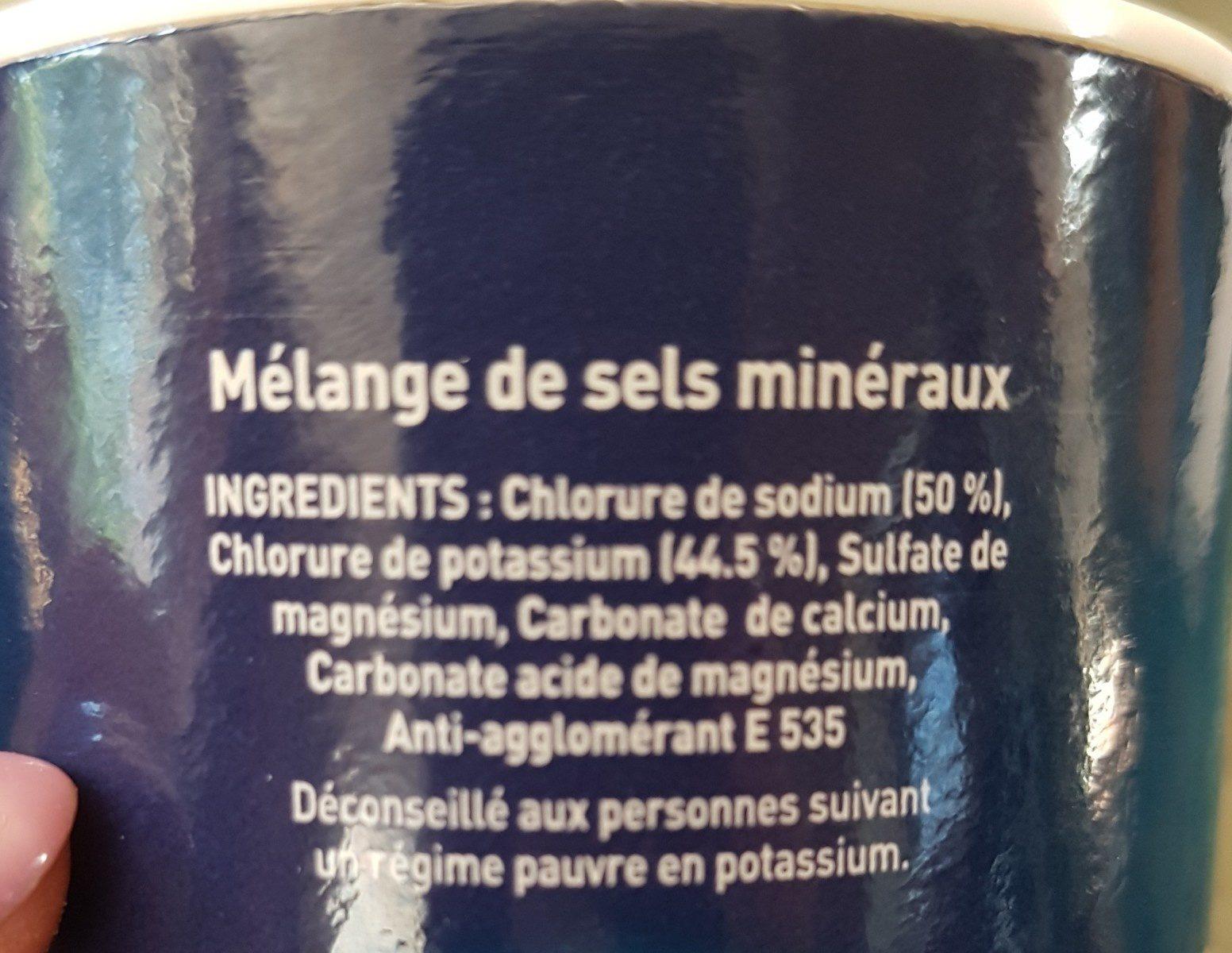 Sel equilibre - Ingredients - fr