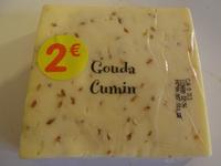 Gouda Cumin (31 % MG) - Produit - fr