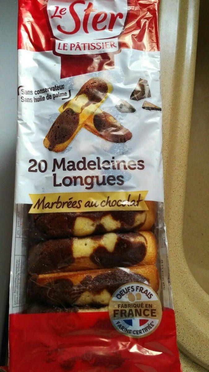 Madeleines marbrées au chocolat - Product