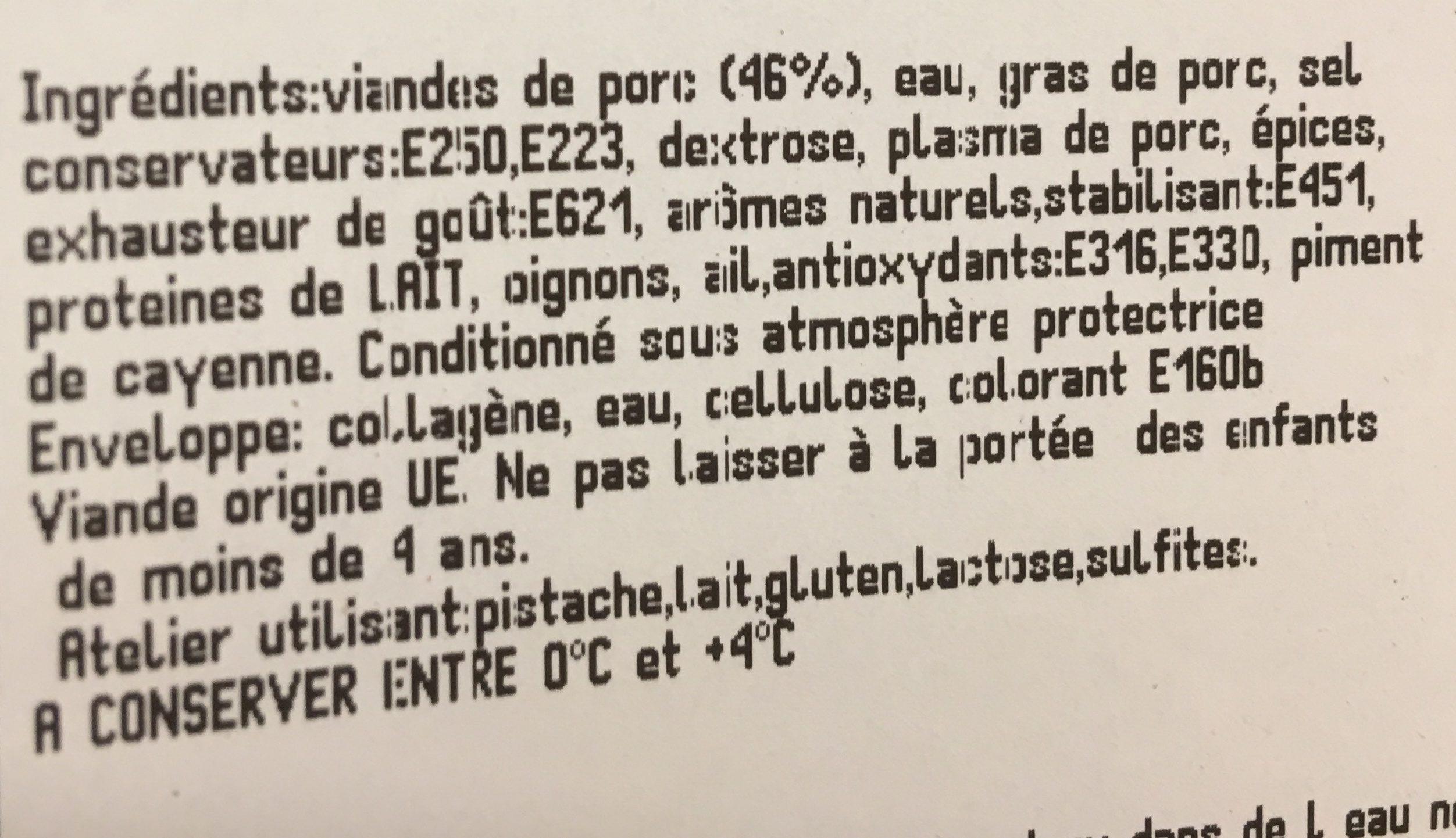 Saucisse cocktail creole - Ingredients