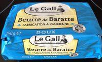Beurre de Barratte - Produit - fr