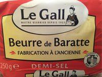 beurre de baratte a l'ancienne - Product - fr