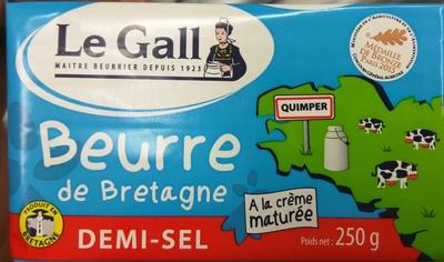 Beurre de Bretagne Demi-Sel - Product