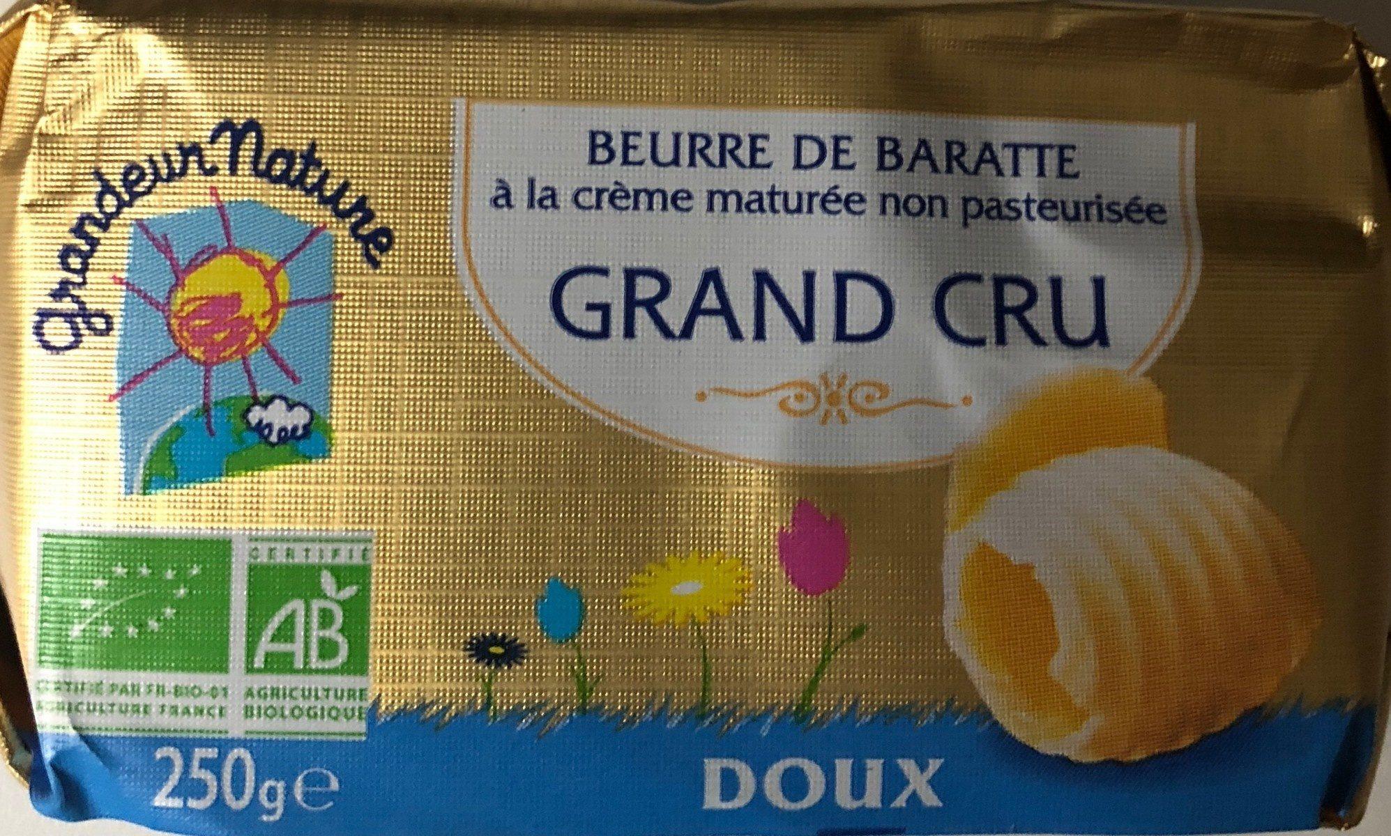 Beurre Doux De Baratte Au Lait Cru - Product