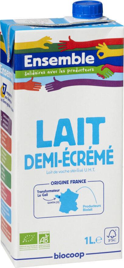 Lait 1/2 écrémé UHT - Prodotto - fr