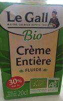 Crème entière fluide - Prodotto - fr