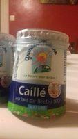 Caillé au lait de brebis Bio nature - Product