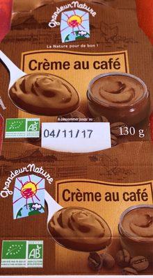Crème au Café - Produit