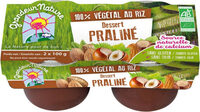 Dessert Riz Praliné Végétal - Product - fr