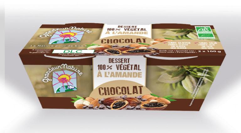 Dessert 100 % vegetal à l'amande - Product