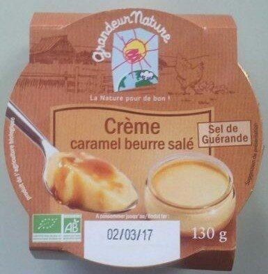 Crème Caramel Beurre Salé - Produit - fr
