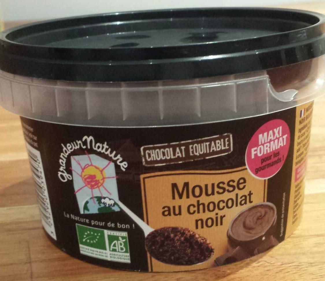 Mousse au chocolat noir - Product - fr