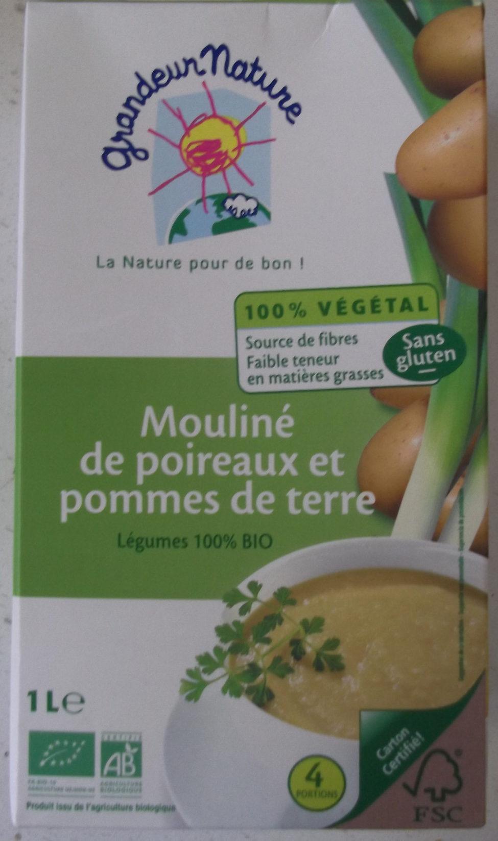 Mouline Poireau Et Pomme De Terre - Produit