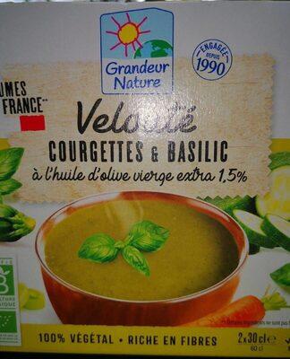 Veloutés courgettes et basilic - Producto - fr