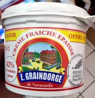 Crème Fraîche Épaisse de Normandie (42 % MG) - Product