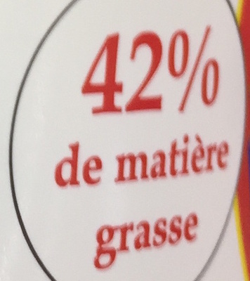 Crème Fraîche Épaisse de Normandie (42 % MG) - Nutrition facts