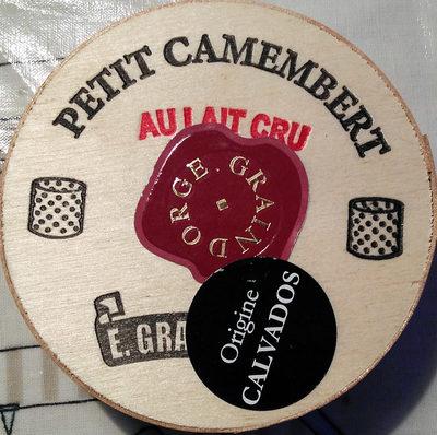 Petit Camembert au Lait Cru - Produkt
