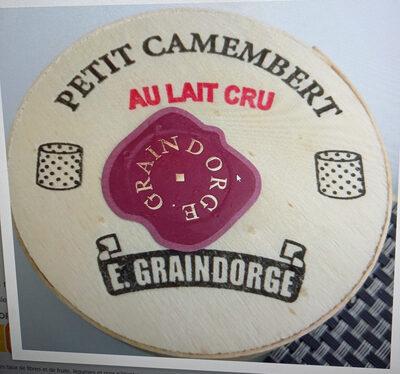 Petit camembert au lait cru - Product - fr