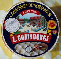 Camembert de Normandie Lait cru - Product - fr