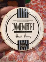 Herve Mons Camembert Cheese - Product