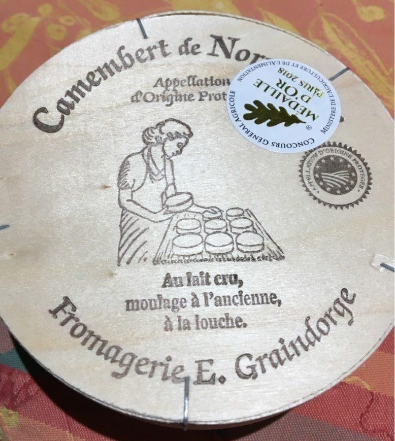 Camenbert de normandie - Produit - fr