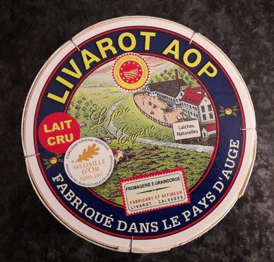 Livarot 45 % Aoc Laîches Naturelles Lait Cru - Product