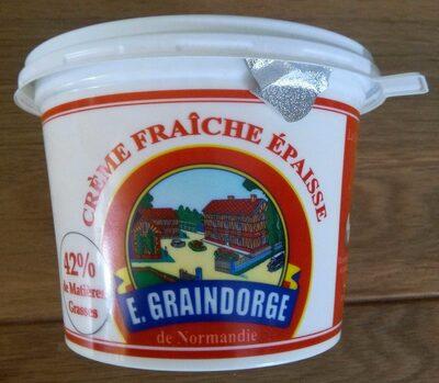 Crème Fraîche Épaisse de Normandie (42 % MG) - Produit