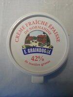 Crème Fraîche Épaisse de Normandie (42 % MG) - Produit - fr