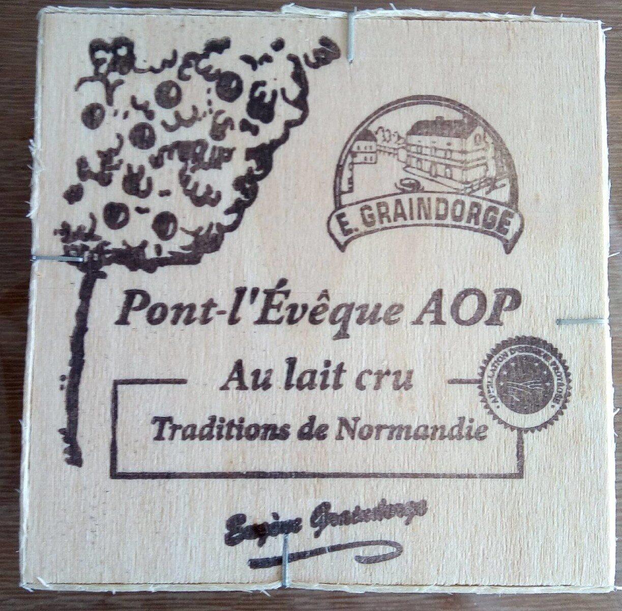 Petit Pont l'Evêque AOP (24% MG) - Product - fr