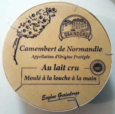 Camembert de Normandie au lait cru (23% MG) - Product