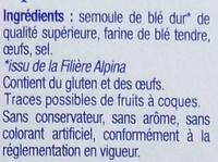 Les Crozets, Nature - Ingrédients